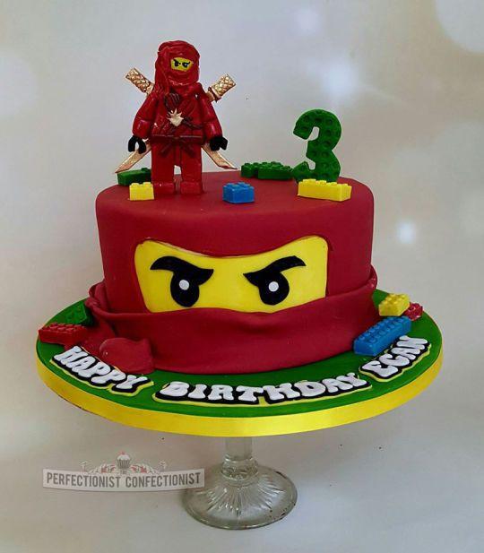 Fantastic Egan Ninjago Lego Birthday Cake Verjaardagstaart Taart Funny Birthday Cards Online Overcheapnameinfo