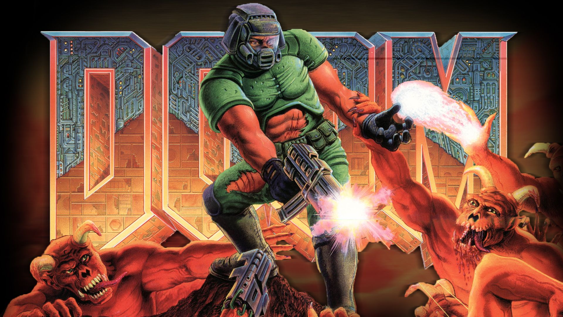 Doom Doom Final Doom Doom Wallpaper « Tiled Desktop