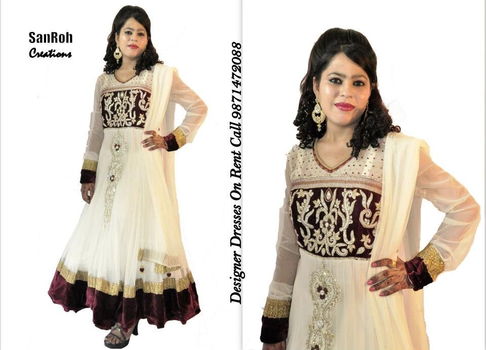 Anarkali Suits On Rent In Delhi NCR Call 9871472088