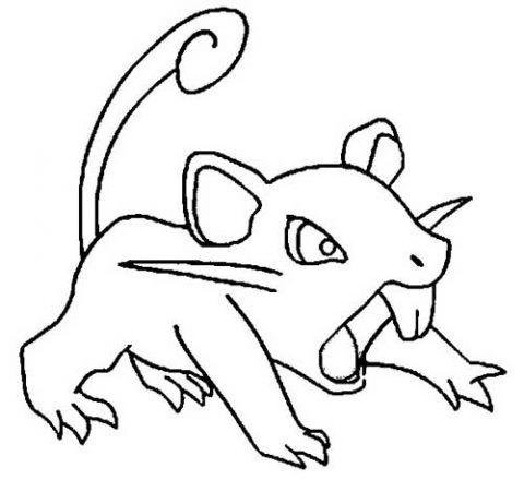 Desenhos Do Pokemon Para Imprimir E Colorir Como Desenhar