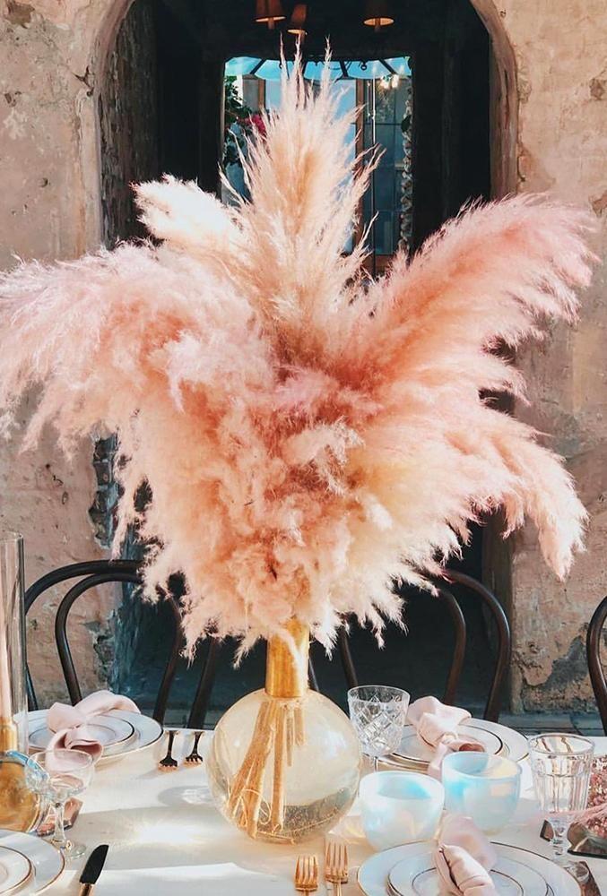 Photo of 30 Espectacular decoración de boda de hierba de pampa | Boda hacia adelante