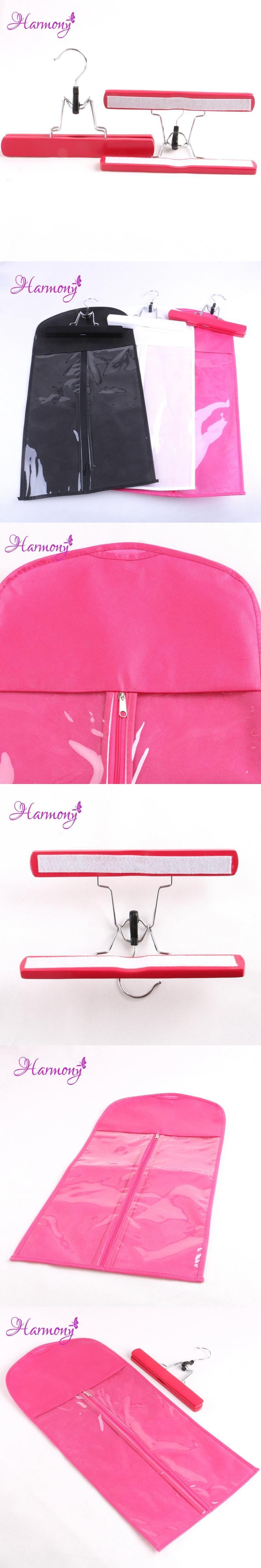 2sets Pink Color Hair Extensions Storage Bag Carrier Suit Case Bag
