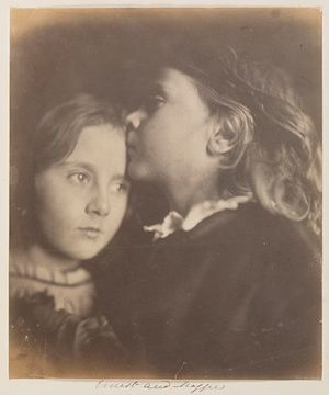 Ernest and Maggi, c.1864 by Julia Margaret Cameron