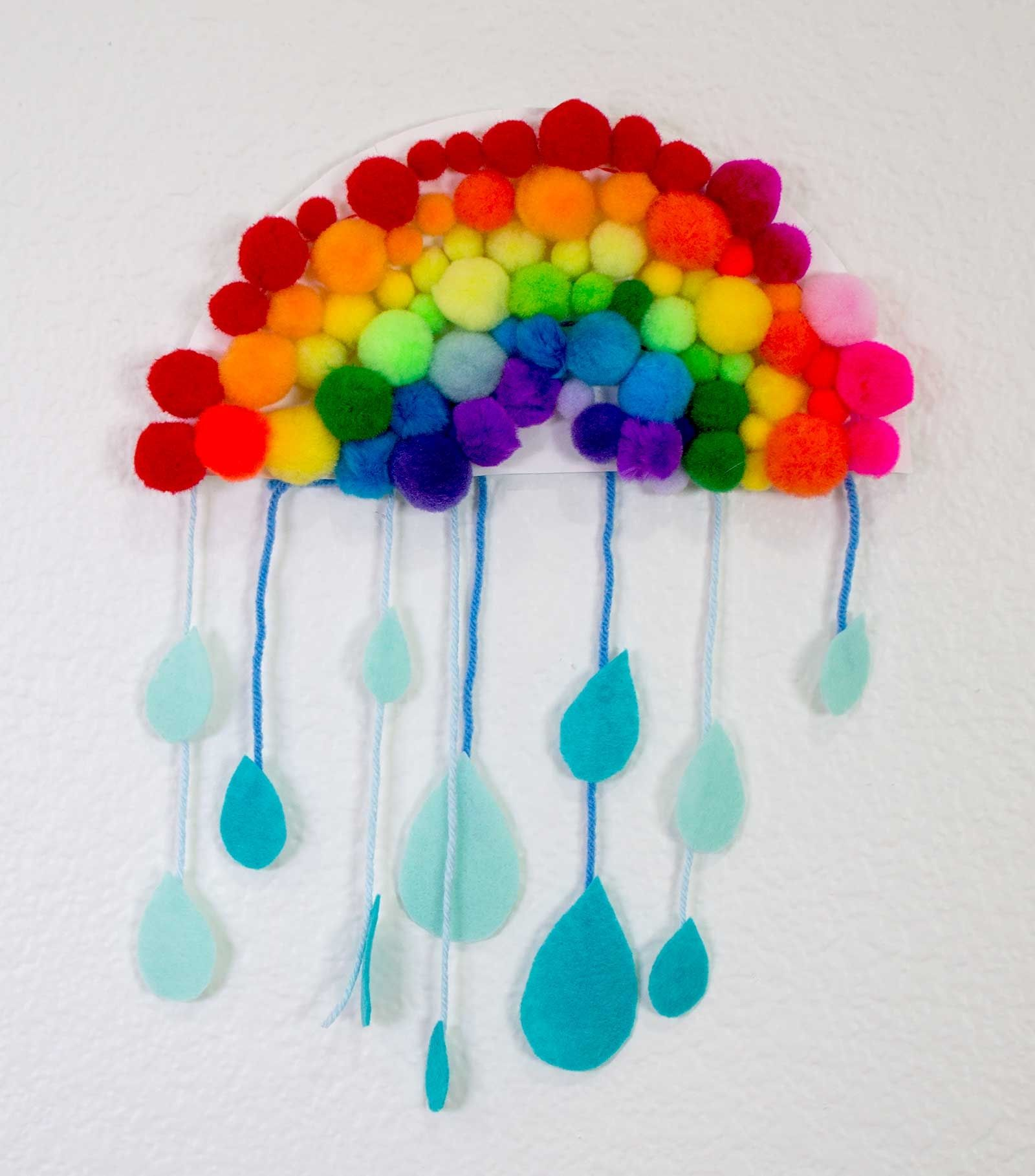 Want An Easy Rainy Day Rainbow Craft For The Kids