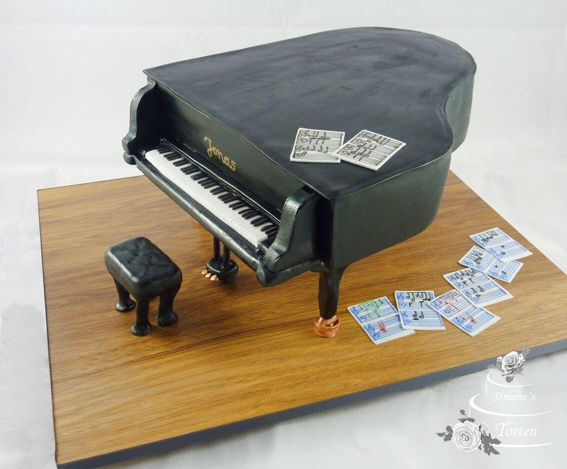 Motivtorte Flgel Klavier  Cake art  3d kuchen Flgel