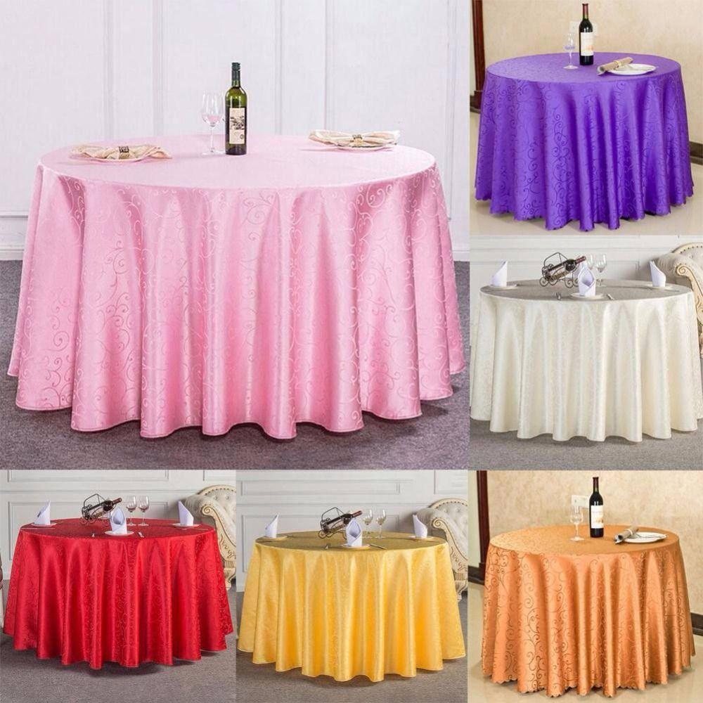 Korean wedding decoration ideas  Tablecloth M Tablecloth Round Cover Table Cloth Wedding