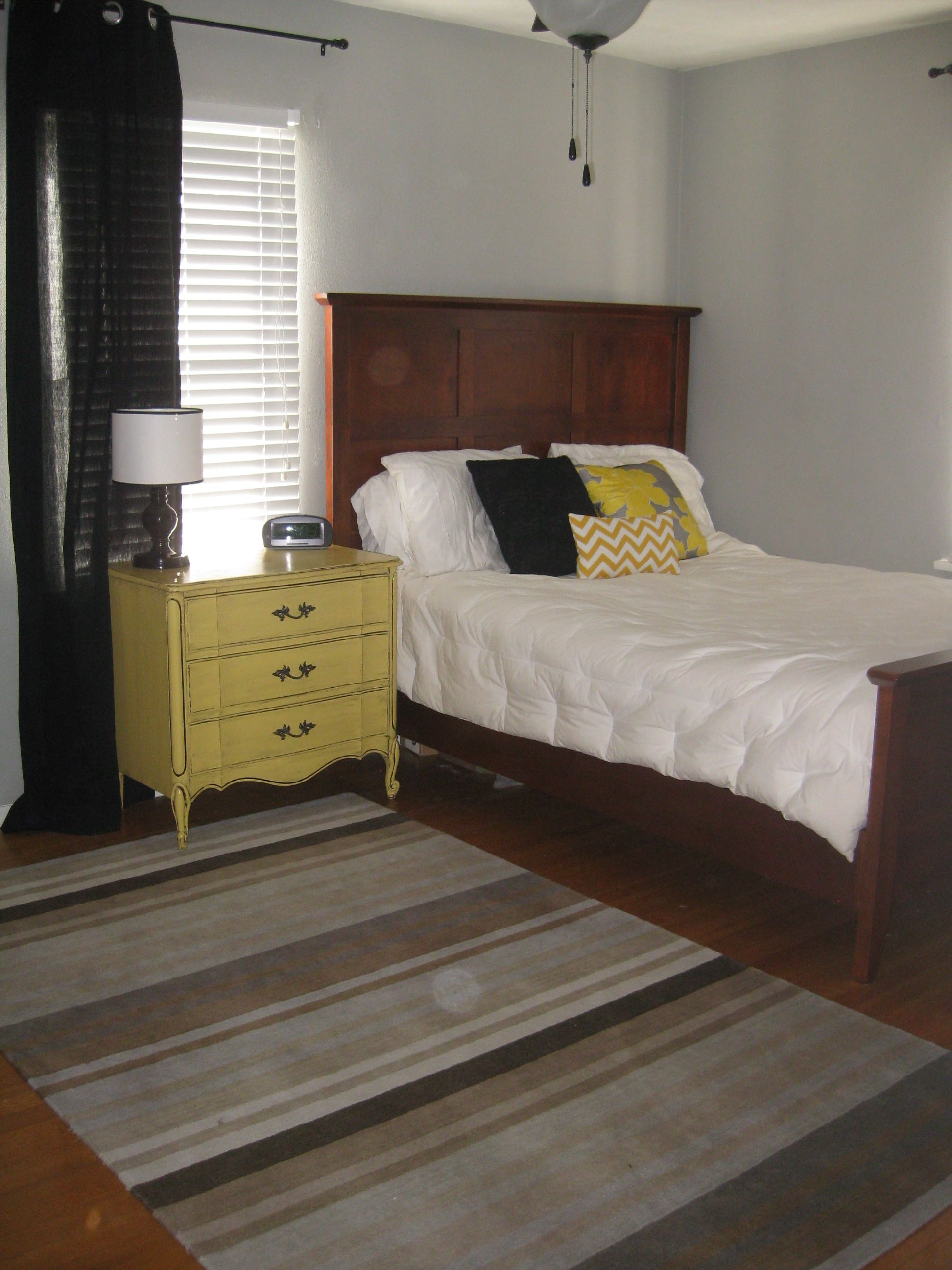 Grey And Yellow Bedroom Beauteous Grey Yellow Bedroom  My Own  Pinterest  Grey Yellow Bedrooms Inspiration
