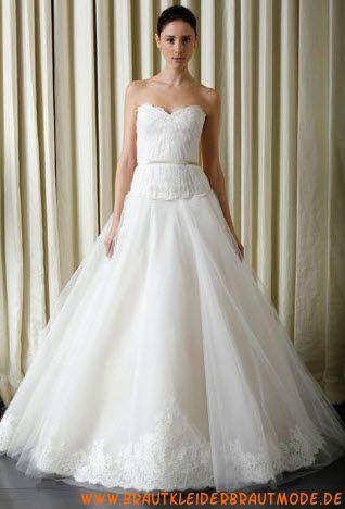 Preiswerte Brautmode aus Organza und Satin 2013 Bestverkaufte Brautmode