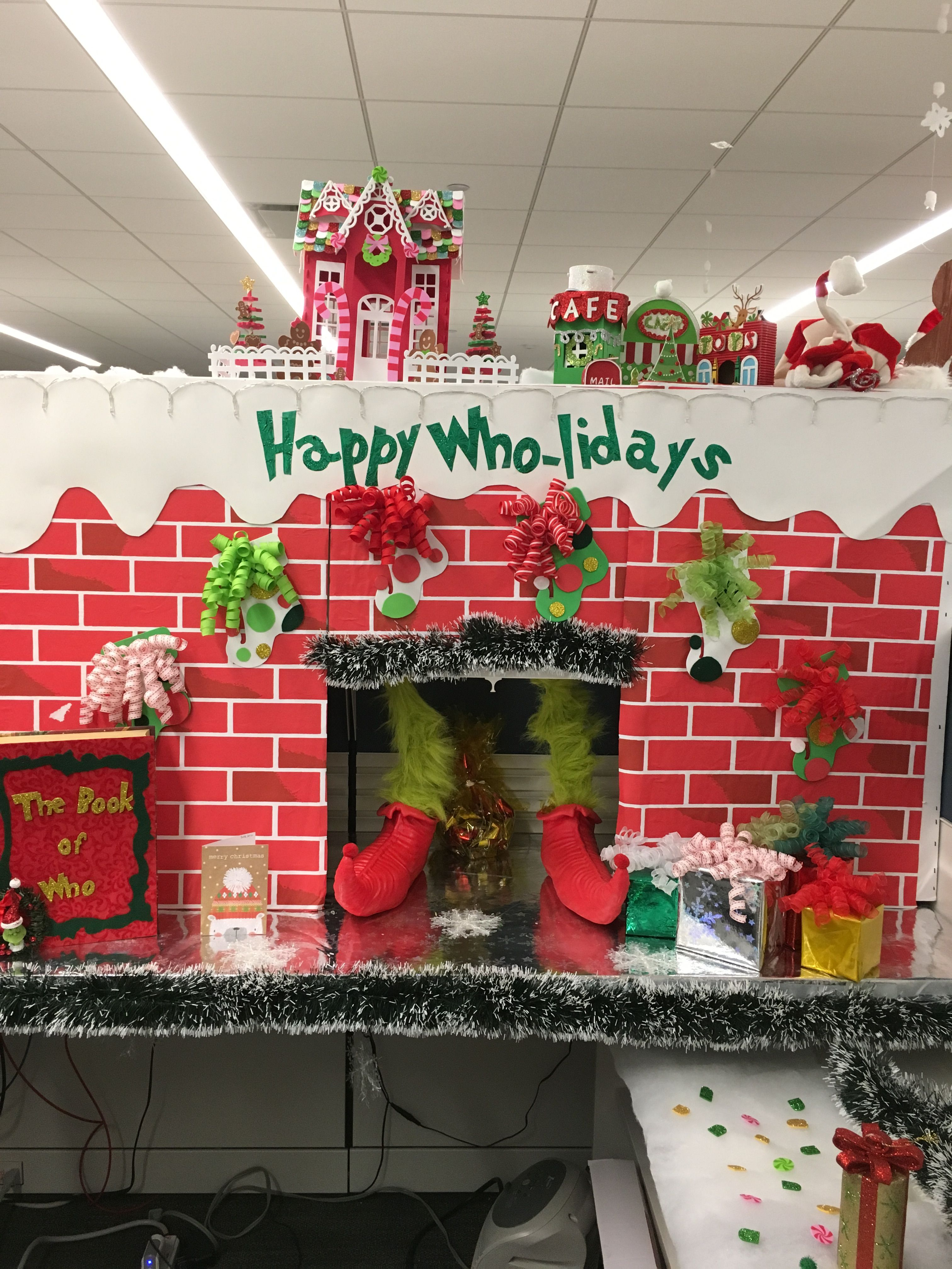 Grinch themed christmas #grinch #whoville #grinchchristmas ...