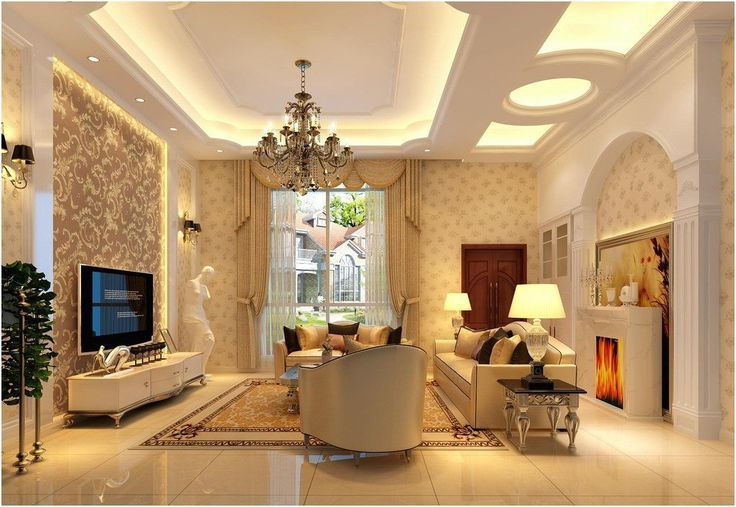 Living Room Design Ideas India pop ceiling design for living room in india | pop ceiling design