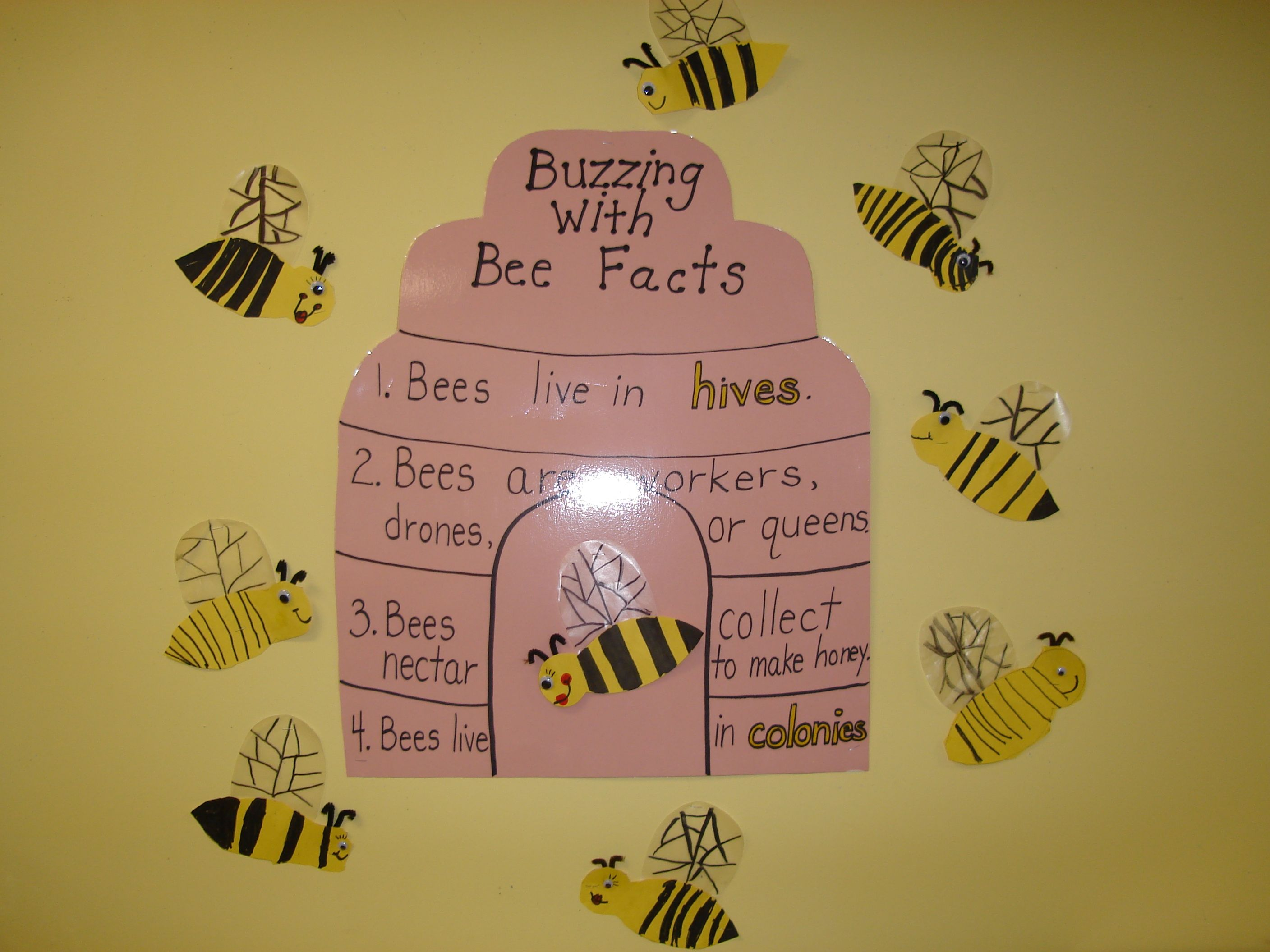 Insects Bee Crafts For Kids