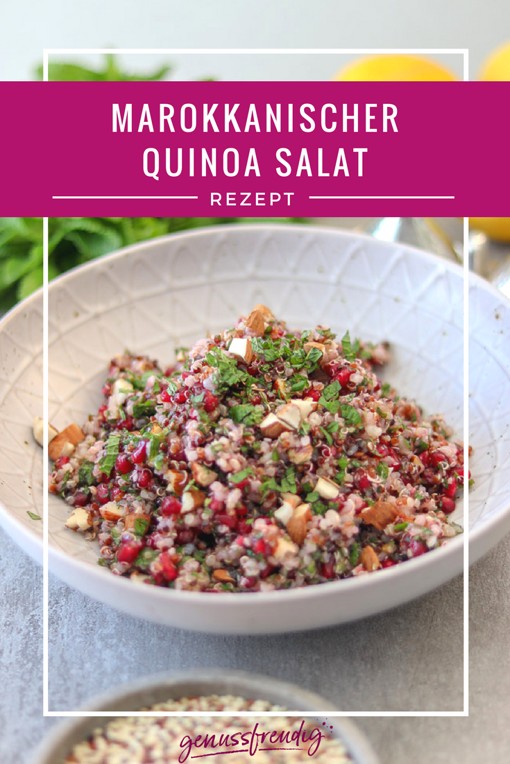 Photo of Marokkanischer Quinoa Salat – genussfreudig