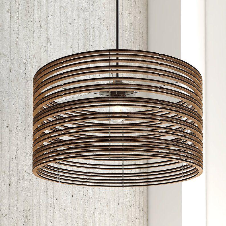 Pendant Light Wood Lamp Ceiling Fixture Dining Light Etsy Modern Lamp Ceiling Lamp Shades Wood Lamps