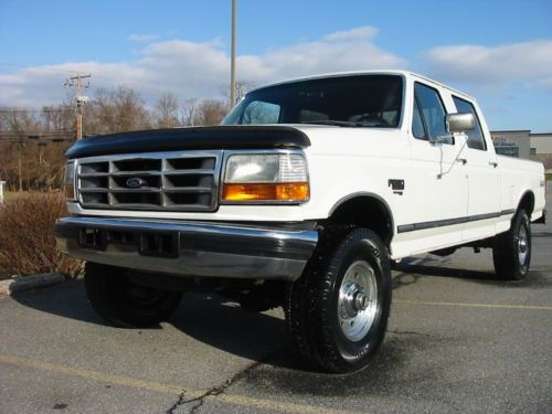 F250 Short Bed For Sale >> 1997 Ford F 250 Xlt Lariat Crew Shortbed Pickup Truck Old