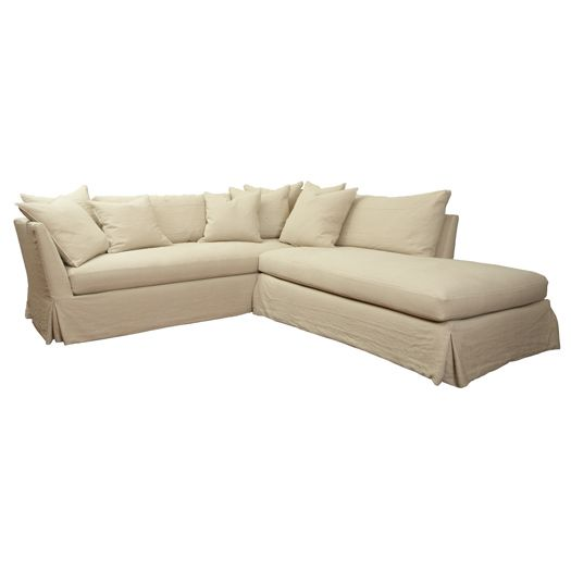 Cisco Brothers Seda Sectional - a little big but awesome