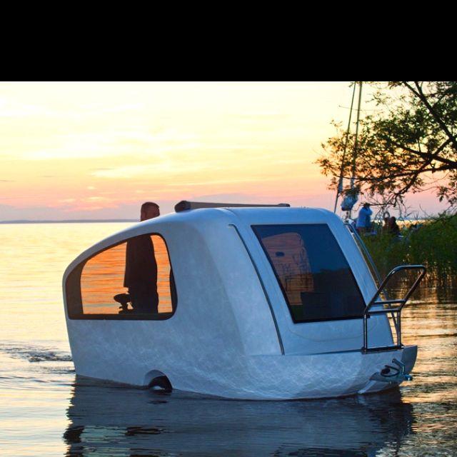 Sealander Amphibious Camping Trailer: Sealander Amphibious Camper!!