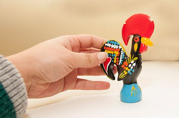set of 2  Portuguese Traditional Rooster  by GiftsFromPortugal, $10.00