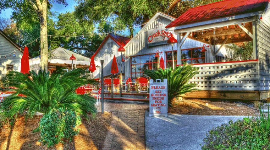 Creek Ratz Waterfront Restaurant Garden City Beach Murrells Inlet