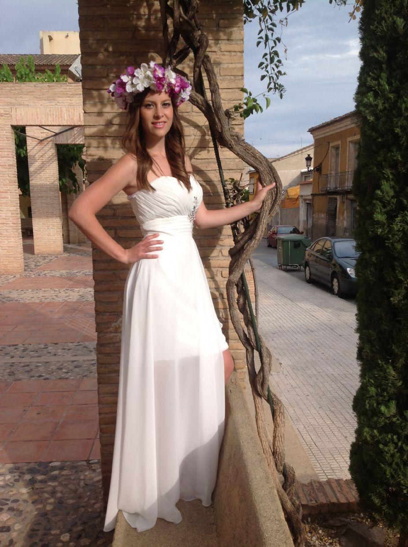 Vestidos cortos para matrimonio civil 2014