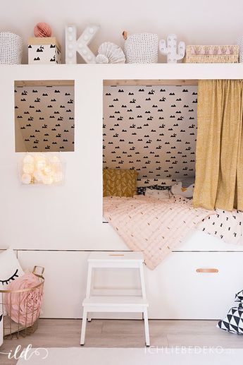DIY Kojenbett fürs Kinderzimmer Kojenbett, Kinder zimmer