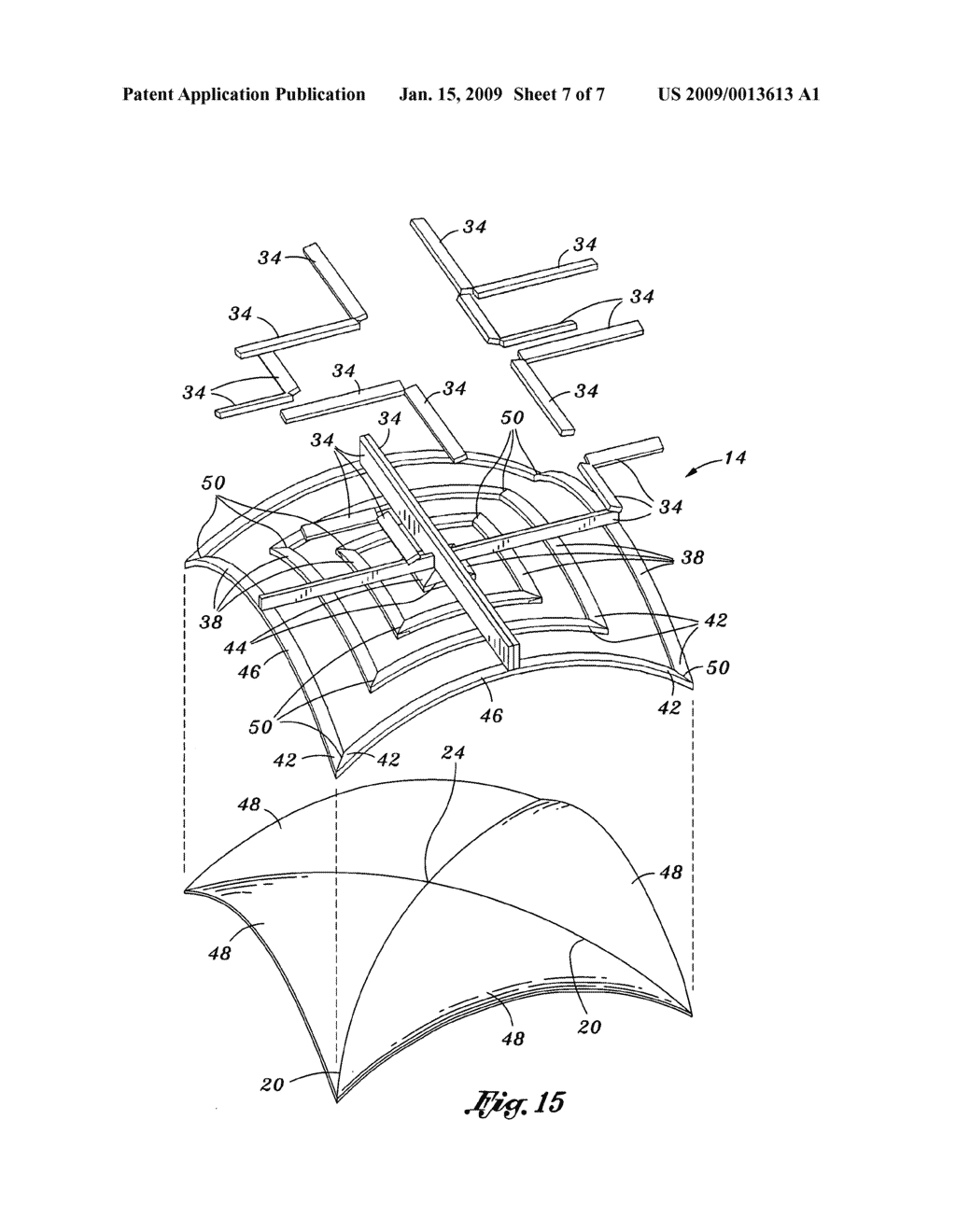 Groin vault ceiling kit - diagram, schematic, and image 08 | Groin ...
