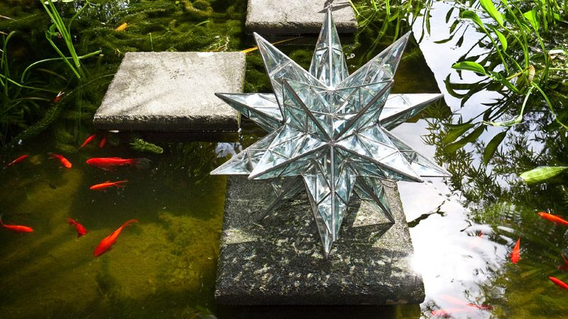 Sacred geometry sculpture