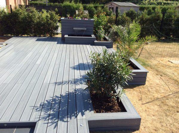 terrasse-bois-composite-01 Hage Pinterest Decking, Gardens and