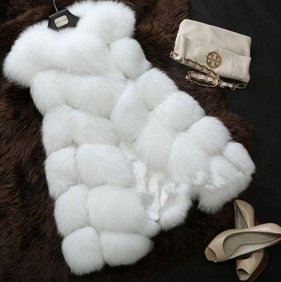 Новый 2014 зимнее пальто женщин импорт вся апельсиновой корки лисий мех жилет высокого класса Cappa шуба отдых Shitsuke женщины пальто размер : S XXXL, принадлежащий категории Мех и искусственный мех и относящийся к Одежда и аксессуары на сайте AliExpress.com | Alibaba Group
