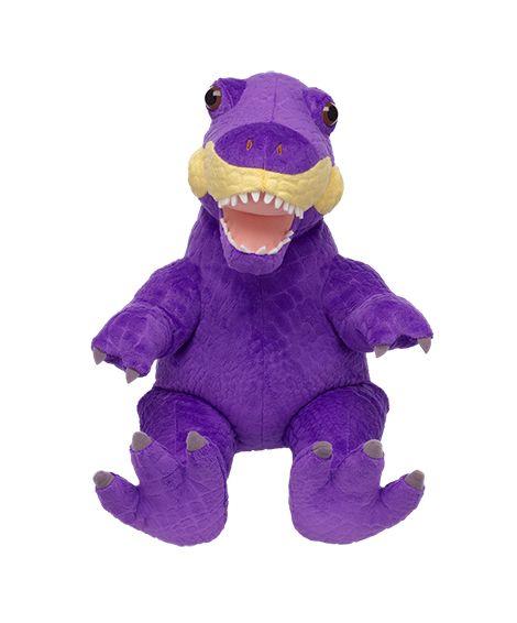 18 in. Purple Tyrannosaurus Rex   Build-A-Bear