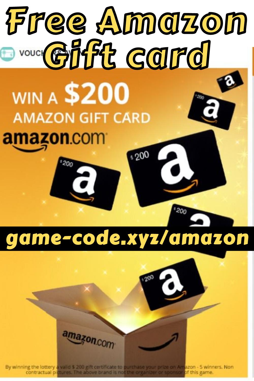 Amazon Gift Card Generator Codes Free Amazon Gift Card Codes 2021 In 2021 Amazon Gift Cards Amazon Gift Card Free Free Amazon Products