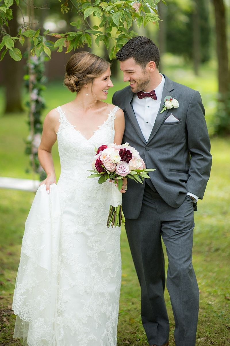 Alicia our formfitting lace wedding gown with a vneck moonlight