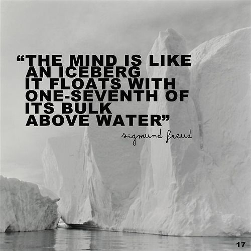 Sigmund Freud Quotes Deep Sayings About Mind Iceberg Word