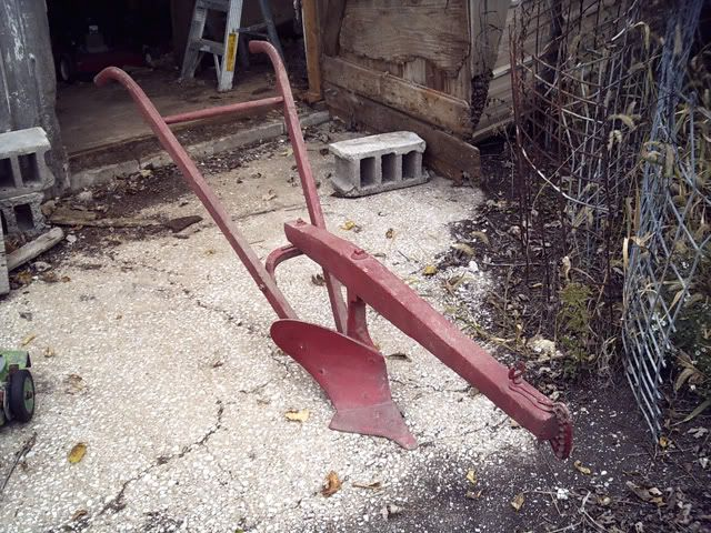Horse Drawn Plow Like My Grandfather Used To Till Up The