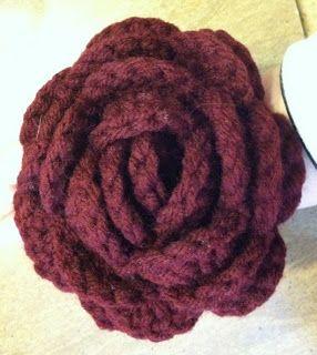 Crochet Wizard: Crochet Roses   Free Crochet Pattern