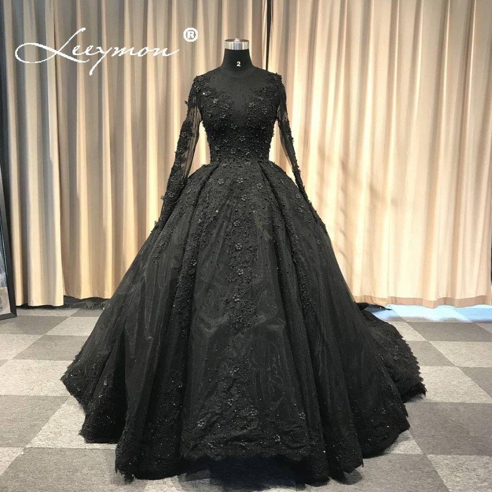 Black Wedding Dresses Intended For Ideas Wedding Ideas Makeit Long Train Wedding Dress Black Wedding Dresses Victorian Wedding Dress [ 1000 x 1000 Pixel ]