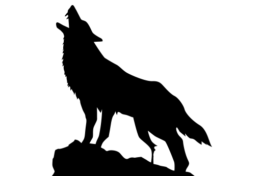 Wolf Howling On Cliff Cliffs Tattoo Wolf Howling Wolf