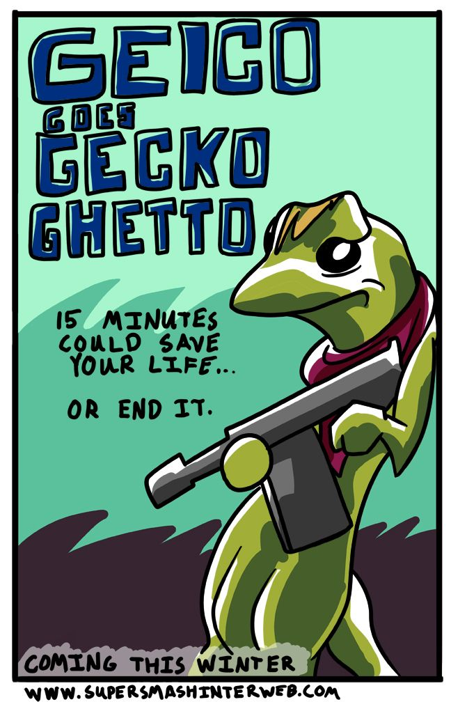 Geico insurance has refused to comment on the above image