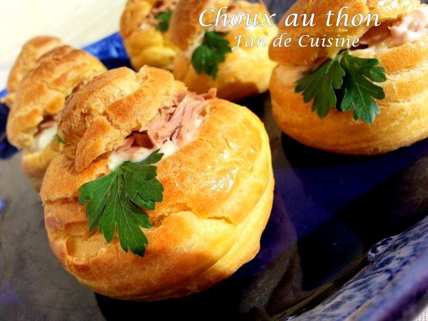 choux au thon