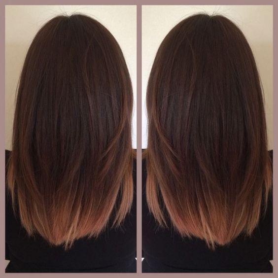 ombr hair sur base brune la couleur qui cartonne en 2016 54 photos balayage beauty crush. Black Bedroom Furniture Sets. Home Design Ideas