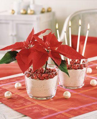 centros-de-mesa-navideños la mami Pinterest Centro mesa