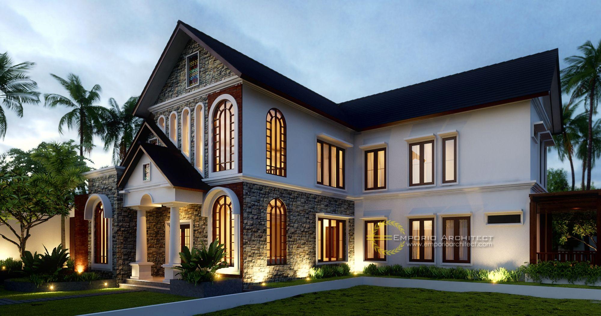 Desain Rumah Klasik Modern Jasa Arsitek Desain Rumah Berkualitas, Desain