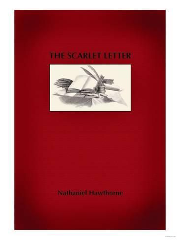 Art Print The Scarlet Letter Poster 24x18in