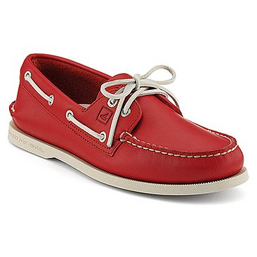 womens boat shoes red   Women evening