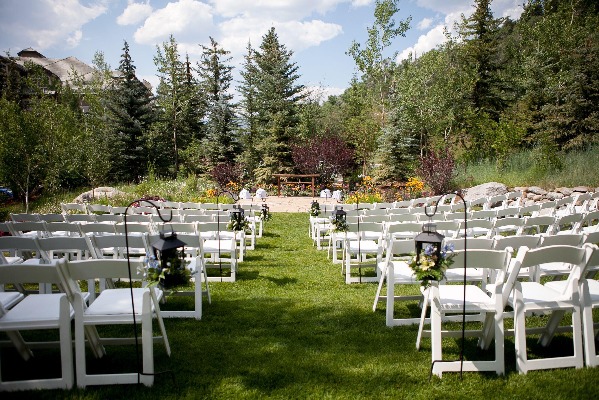 Incredible Outdoor Wedding In Colorado At Park Hyatt Beaver Creek