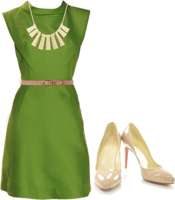 """Green"" by spanwayhits on Polyvore"