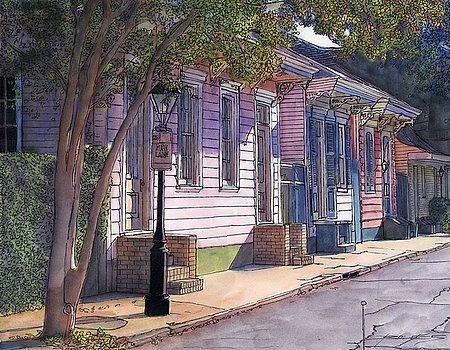 144 French Quarter Street by John Boles
