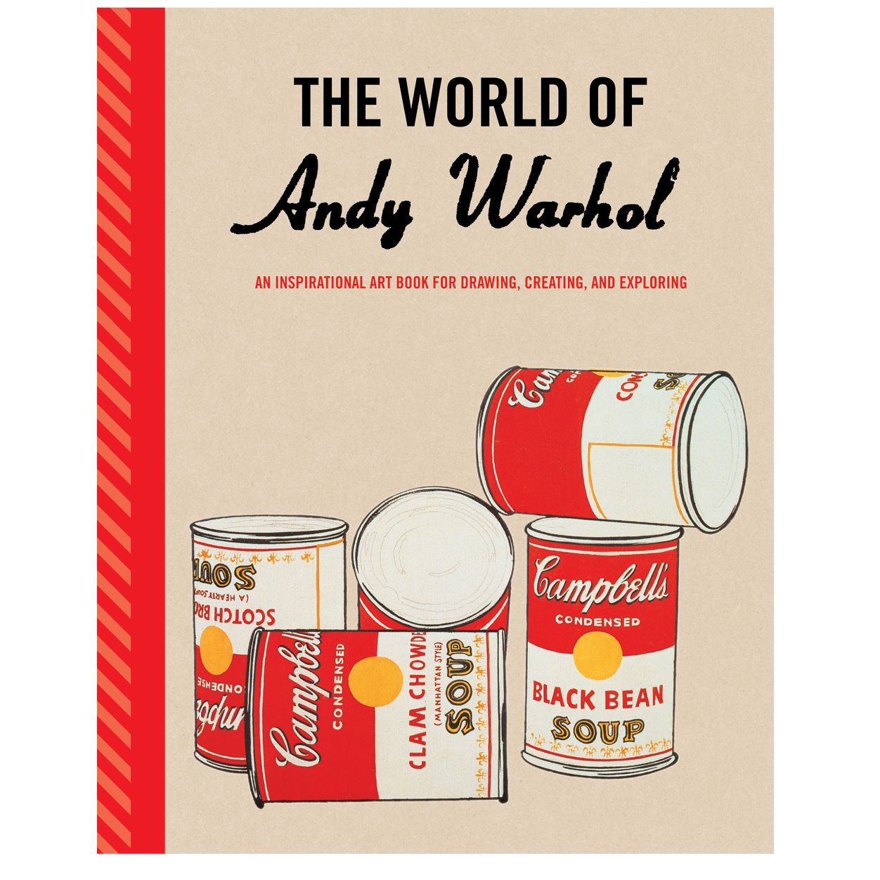 Andy Warhol Guided Activity Journal By Galison