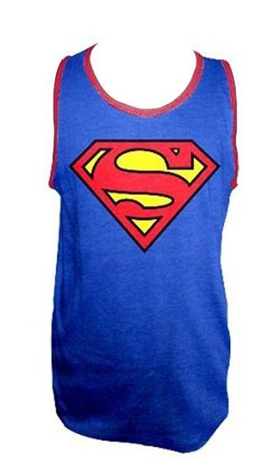 81d7ce9fc8c6f DC Comics Superman Logo T-shirt Tank Top