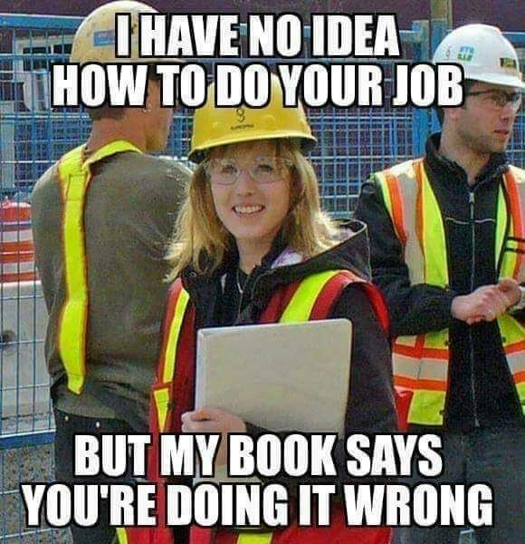 25 Work Memes That Really Hit Home In 2021 Funny Safety Slogans Funny Memes Funny Pictures