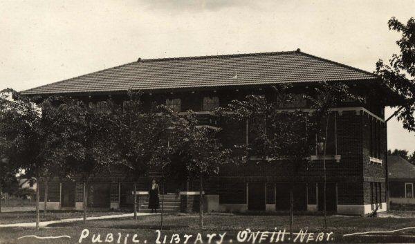O Neill Ne Public Library 1912 Public Library Carnegie Library